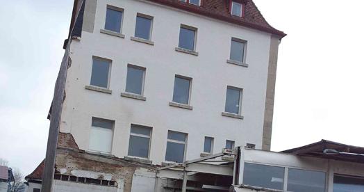 Entkernung Wohnhaus