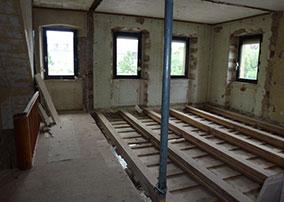 Sanierung einer alten Gaststätte